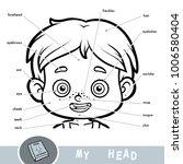 cartoon visual dictionary for... | Shutterstock .eps vector #1006580404