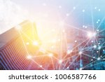 business connection and capital ... | Shutterstock . vector #1006587766