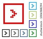 arrow vector button icon se.... | Shutterstock .eps vector #1006588294