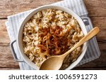 middle eastern food  mujaddara... | Shutterstock . vector #1006591273