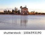 artificial lake in menara... | Shutterstock . vector #1006593190
