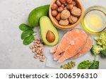 selection of healthy food for... | Shutterstock . vector #1006596310