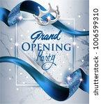 elegant grand opening... | Shutterstock .eps vector #1006599310