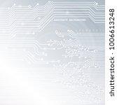 circuit board  technology...   Shutterstock .eps vector #1006613248