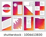 abstract vector layout... | Shutterstock .eps vector #1006613830