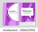 abstract vector layout... | Shutterstock .eps vector #1006615936