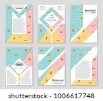 abstract vector layout... | Shutterstock .eps vector #1006617748