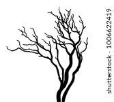 vector tree with branches | Shutterstock .eps vector #1006622419
