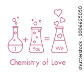 you and me and our chemistry of ... | Shutterstock .eps vector #1006625050