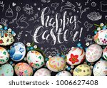template vector card with... | Shutterstock .eps vector #1006627408
