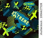 abstract seamless sport pattern ...   Shutterstock .eps vector #1006627528