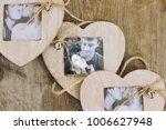 Wooden Frame For Photo. Love...