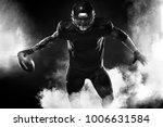 american football sportsman...   Shutterstock . vector #1006631584