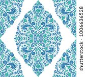 blue and green ornamental... | Shutterstock .eps vector #1006636528