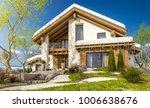 3d rendering of modern cozy... | Shutterstock . vector #1006638676