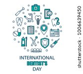 world dentist day campaign... | Shutterstock .eps vector #1006639450