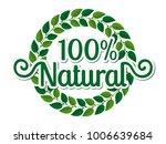 vector illustration of a green... | Shutterstock .eps vector #1006639684