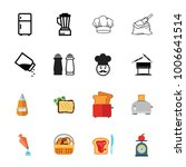 cooking icon set | Shutterstock .eps vector #1006641514