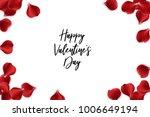 valentine poster. random...   Shutterstock .eps vector #1006649194