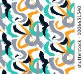 brushstrokes camouflage bold... | Shutterstock .eps vector #1006651540