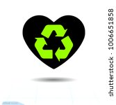 heart icon. a symbol of love....   Shutterstock .eps vector #1006651858