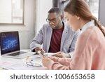 creative skilled female... | Shutterstock . vector #1006653658