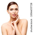 face skin care and natural... | Shutterstock . vector #1006655728
