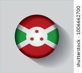 button flag of burundi in a... | Shutterstock .eps vector #1006662700