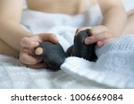 children hands playing with his ... | Shutterstock . vector #1006669084