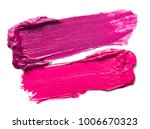 close up of a lipstick paint on ... | Shutterstock . vector #1006670323