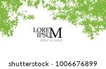 trees background. forest. vector | Shutterstock .eps vector #1006676899