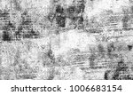 texture grunge. black and white ... | Shutterstock . vector #1006683154
