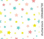 the star pattern. seamless... | Shutterstock . vector #1006686730