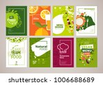 set of restaurant menu ... | Shutterstock .eps vector #1006688689