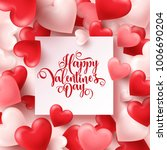 valentines day abstract... | Shutterstock .eps vector #1006690204