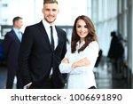 young professionals work in...   Shutterstock . vector #1006691890