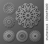 islamic ornament vector  ... | Shutterstock .eps vector #1006693600