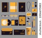 stationery template design.... | Shutterstock .eps vector #1006695883