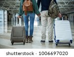 man and woman holding each... | Shutterstock . vector #1006697020