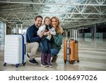 parents with their child going... | Shutterstock . vector #1006697026