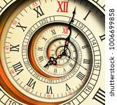 antique old clock abstract...   Shutterstock . vector #1006699858