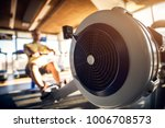 close up focus view of machine... | Shutterstock . vector #1006708573
