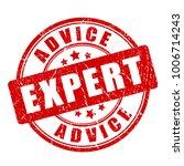 red expert advice vector stamp... | Shutterstock .eps vector #1006714243