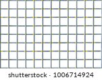 isolated square metal cage wire ... | Shutterstock . vector #1006714924