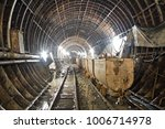 Subway Tunnel In Construction