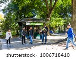 new york city  usa   october 28 ... | Shutterstock . vector #1006718410