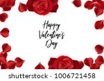 Stock vector red rose petal isolated white background vector wedding illustration valentines day greeting card 1006721458