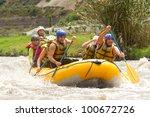 Raft Water White River Ecuador...