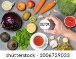 food for detoxification. detox... | Shutterstock . vector #1006729033