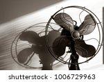 antique fan with light... | Shutterstock . vector #1006729963